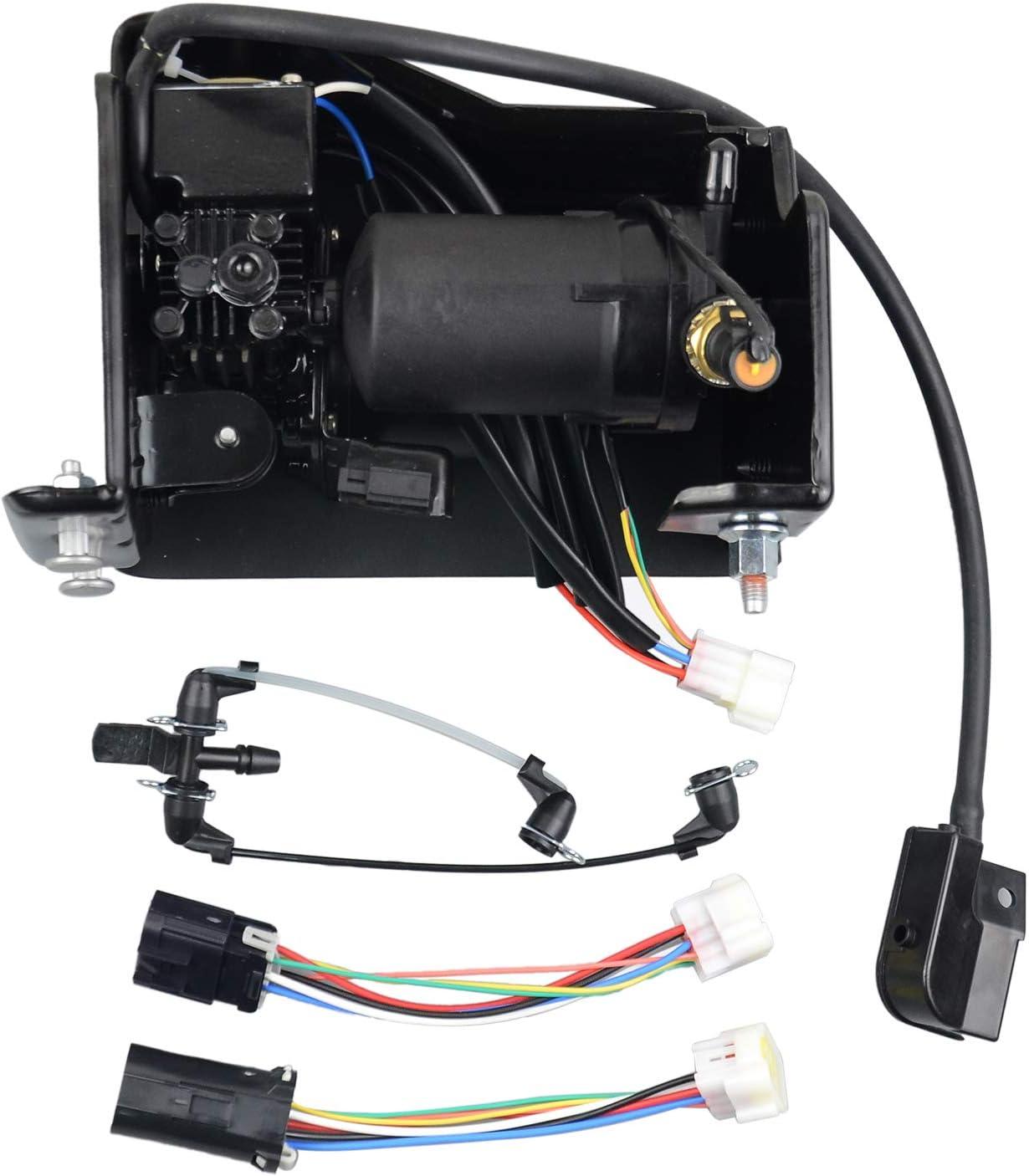 949-099 949-001 Air Ride Suspension Compressor Pump Compatible with Chevrolet Avalanche Suburban Tahoe Cadillac Escalade GMC Yukon XL 2001-2013 15254590 19299545