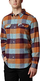 Columbia Men's Flare Gun Stretch Flannel Shirt, Moisture Wicking, Comfort Stretch