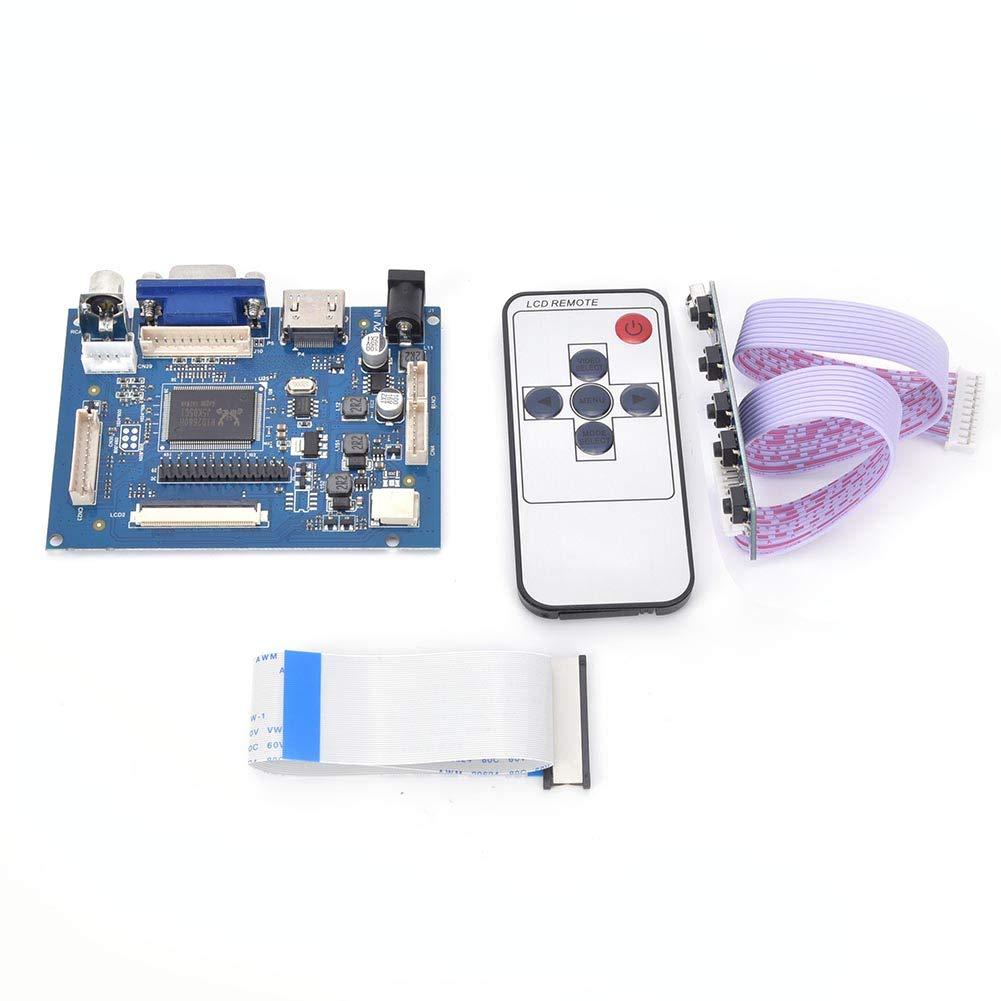 Popular standard HDMI VGA 2AV Reverse Driver Board 7 L inch for Spasm price 800x480 AT070TN92