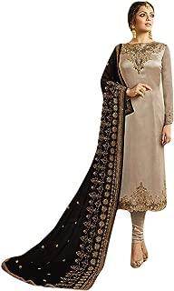 Payal fashion Salwar Kameez Indian Pakistani Muslim Women Casual Formal Georgette Embroidery Heavy Dupatta