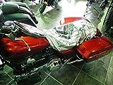 CoolAss Large Dual Saddle Heat Reflective Waterproof Rain Motorcycle Seat Cover