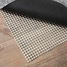 Alaskaprint Antideslizante y protección para alfombras, tapete antideslizante para alfombras - Base antideslizante de 180 x 290 cm, corte con tijeras
