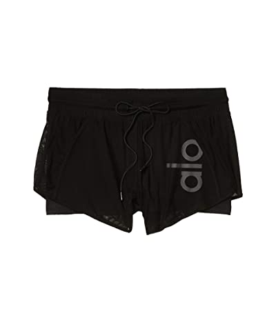 ALO Ambience Shorts (Black/Black) Women