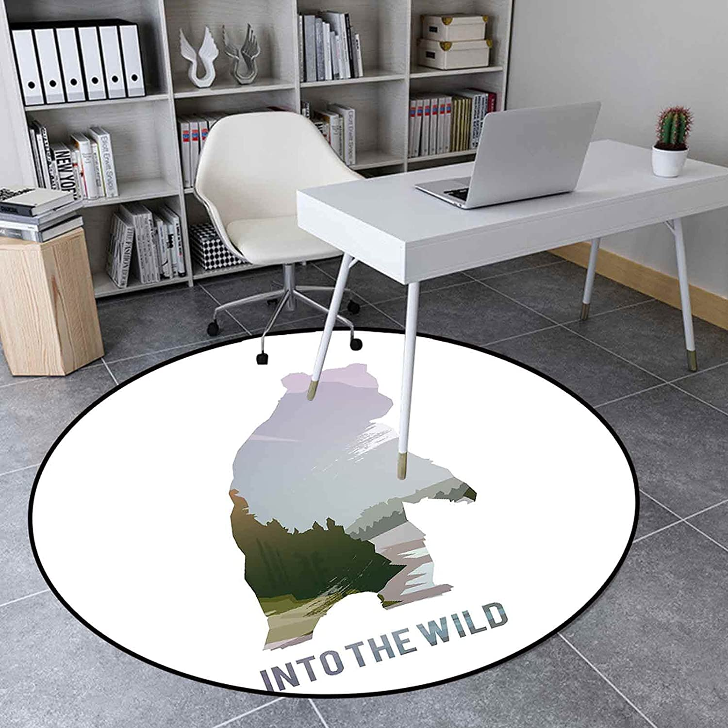 Popular product Round Area Rug Ranking TOP14 3.3 Ft Living Room Bedroom for Carpet
