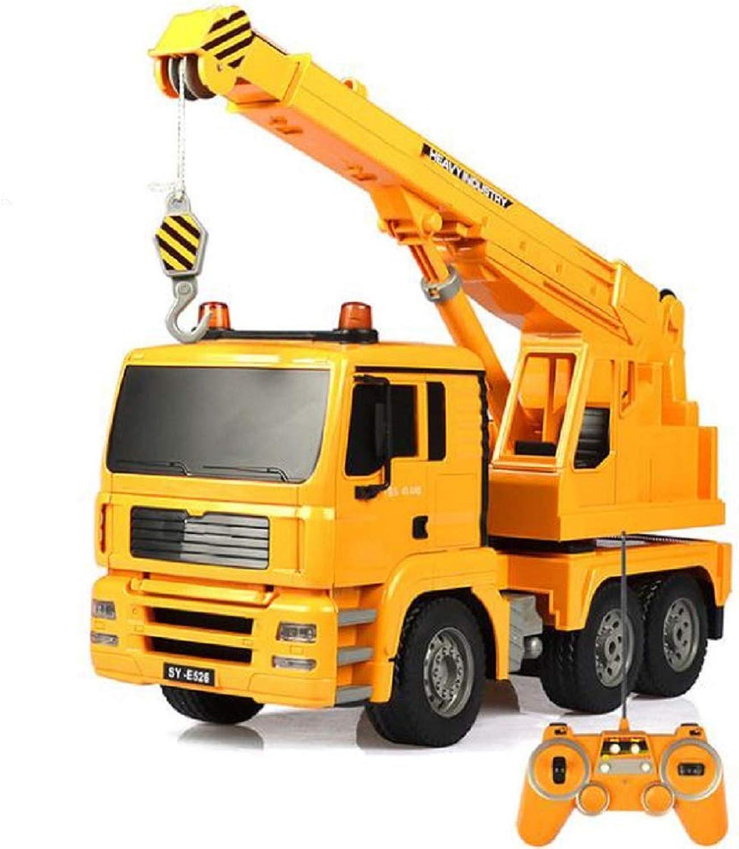 ZMJY Fernbedienung Engineering Fahrzeug Spielzeug, 1 20 Engineering kran Lade elektrische Fernbedienung Auto Kinder Simulation spielzeugauto