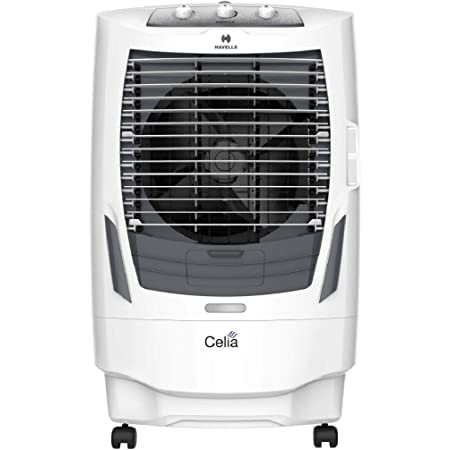 Buy Havells Celia Desert Air Cooler - 55 Litres (White, Grey) Online at Low  Prices in India - Amazon.in
