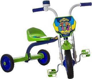 Triciclo Ultra Bike Top Boy Jr Velotrol Azul/Verde