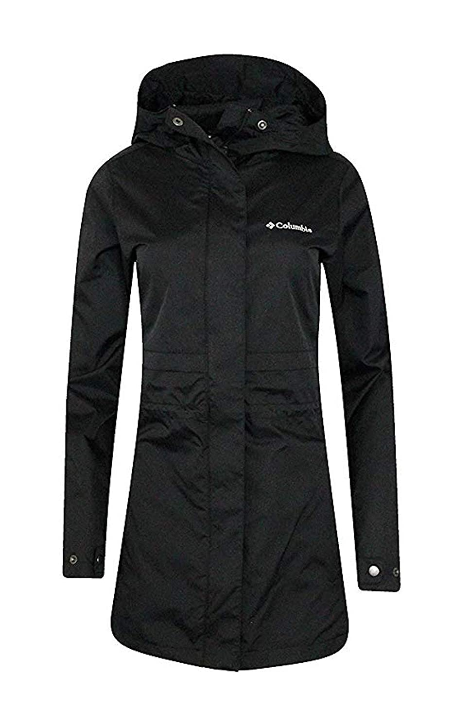 COLUMBIA WOMENS Shine Struck II Waterproof RAIN Mid Hooded JACKET
