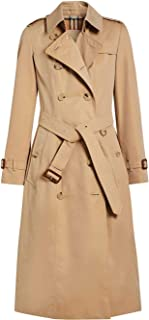 BURBERRY Luxury Fashion Womens 4073377 Beige Trench Coat | Season Permanent