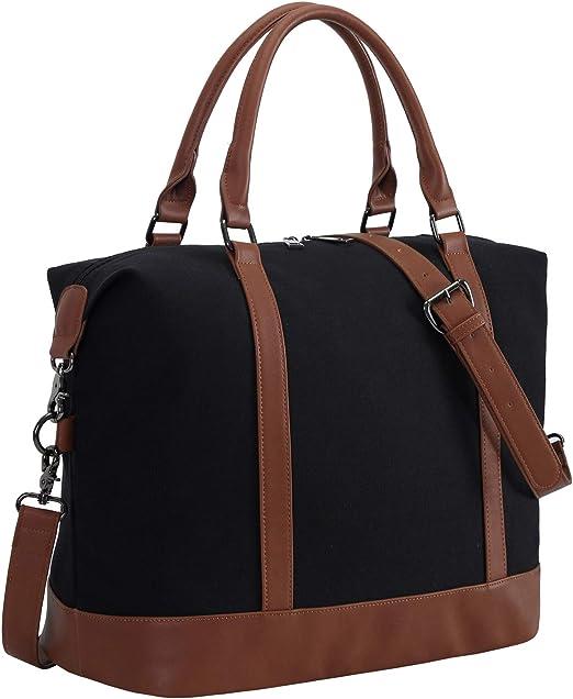Bluboon Canvas Weekender Bag
