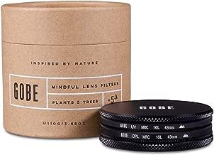 Gobe - Kit de Filtros para Objetivo 49 mm UV + Polarizado Circular (CPL) (2Peak)