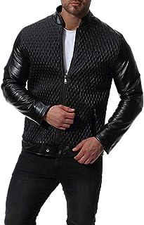 69eab08a38 Amazon.it: bomber pelle - Uomo: Abbigliamento