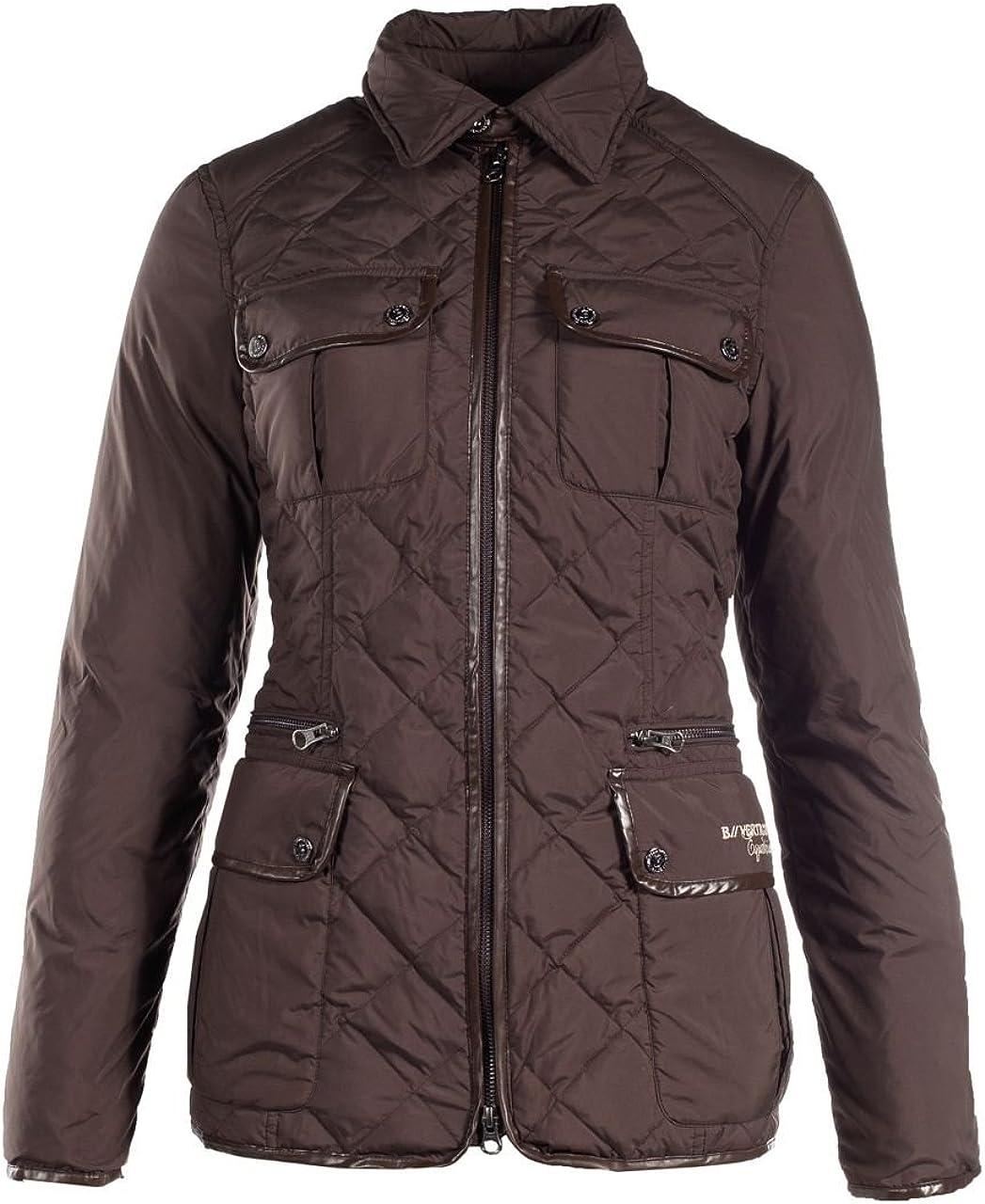 B Vertigo Sarah Women's Classic Jacket - Brown, Large