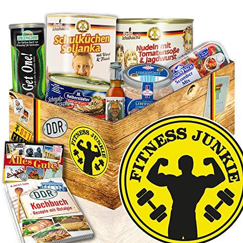 Fitness Junkie - Geschenke für Fitnessbegeisterte - Ostprodukte Box Set