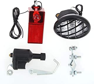 YCRCTC 電動バイク自転車摩擦ダイナモ発電自転車ダイナモライトセット自転車サイクル安全ヘッドライトリア自転車ライト (Color : SX05)