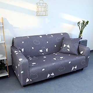 L-shape Stretchy Sofa Slipcover Elastic Couch Cover,universal Sofa Covers Soft Couch Shield Durable Furniture Protector Fo...