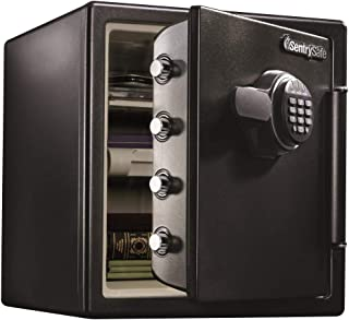 SentrySafe SFW123EU Fireproof Waterproof Safe with Digital Keypad, 1.23 Cubic Feet