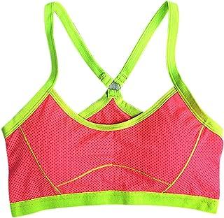 DishyKooker Women Stylish Sports Bra Shockproof Vest Without Steel Ring Breathable Yoga Gym Bra