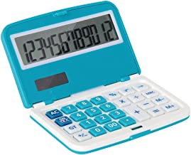 $32 » Calculator Stylish Cute Portable Calculator Financial Business Office Calculator Dual Power Electronic Calculator Office C...