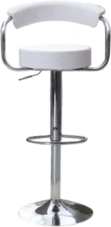 HZYDD Comfortable Inexpensive Bar Stool Round Rare Rotating Swivel