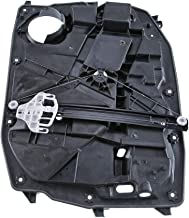 A-Premium Power Window Regulator with Motor and Panel for Jeep Liberty 2008-2012(2 Pin Connector) Front Left Driver Side
