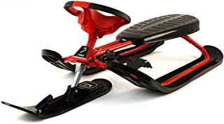 Stiga Snow Racer Ultimate Pro - Trineo (120 x 50 x 29 cm), Color Rojo y Negro