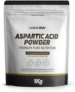 Acide Aspartique HSN Raw     Stimulant Testosterone  Favorise Developpement Masse Musculaire  augmente Force Puissance Endurance Poudre