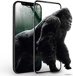 memumi Protector de Pantalla para iPhone XR Cristal Vidrio Templado [Herramienta de Instalación] 9H Dureza [Alta Definicio...