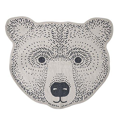 Bloomingville Teppich Bär, braun