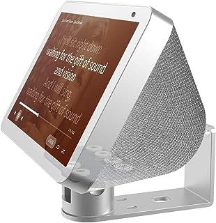 Echo Show 8 Wall Mount Stand Aluminum Swivel Stand, Stand for Amazon Echo Show 8 & Echo Show 5, Horizontal 360 Rotation Lo...