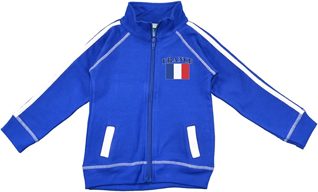 PAM New item GM Little Boys Track Jacket France Soccer Recommended