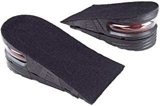 Shoes Increase Insole Heel Height Lift Elevator Air Cushion Pad Half Insert 2 Removable Layer 3.5-5cm for Men Women