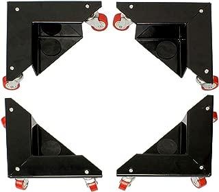 BISupply | Corner Furniture Moving Dolly Roller Portable Dolly Furniture Rollers for Moving Furniture Moving Cart 4-Pack