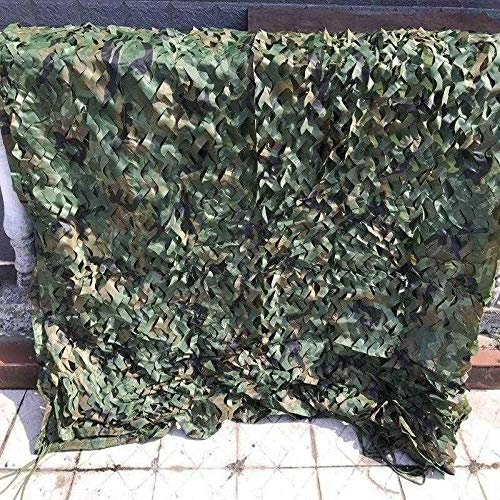 XWZH Universal Tarp Sheet 4MX5M Camouflage Netting Hunting Military Camo Net Woodland Army Camo Netting Camping Tent Pergola Cover (Size : 5mx6m)