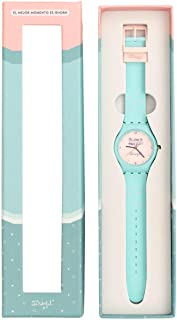 Mr. Wonderful WOA08896ES Reloj de Pulsera It's Time to Have Fun, Silicona, 1.5x26.8x5.6 cm