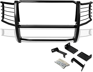 DNA MOTORING Black GRILL-G-034-BK Front Bumper Brush Grille Guard