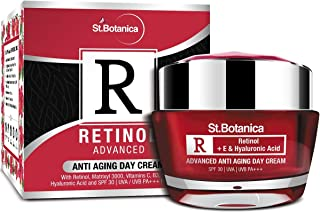 StBotanica Retinol Advanced Anti-Aging Day Cream SPF 30, UVA/UVB PA+++, 50g