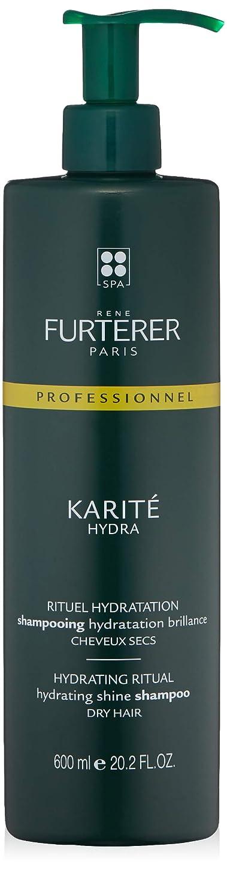 バレーボールあえぎ前部ルネ フルトレール Karite Hydra Hydrating Shine Shampoo (Dry Hair) 600ml/20.2oz並行輸入品