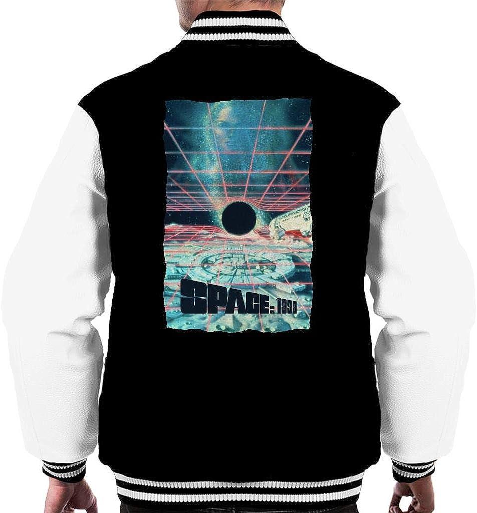 Space National uniform free shipping 1999 Black Sun Varsity Men's Jacket Fort Worth Mall