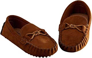 Hopscotch Boys PU Stylish Moccasins in Brown Color
