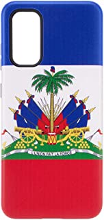 Kliah iPhone Haitian Flag Case - Haitian Cell Phone Case for iPhone - Shockproof Protected Customize Haitian Flag Case (iP...
