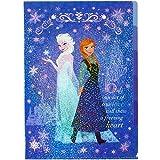 サンスター文具 アナと雪の女王 5ポケット クリアファイル ネイビー(エルサアナ) S2157543
