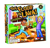Endless Games 632468005251 The Floor is Lava Interactive Board Game for Kids and Adults (Ages 5+) Fun Party, Birthday, and Family Play Promotes Physical Activi