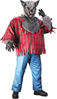 Fun World Men's Werewolf Plsz Cstm, Multi, Plus Size