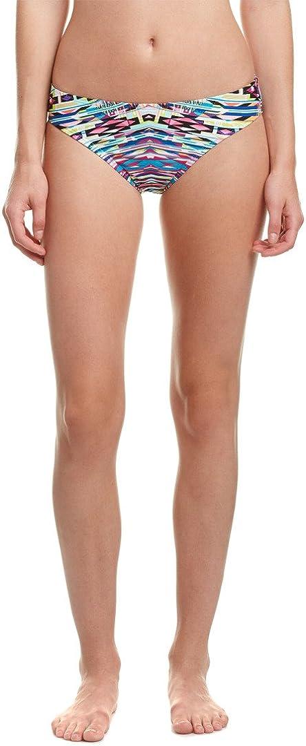 Kenneth Cole REACTION Women's Hot to Trot Tribal Scrunch Back Hipster Bikini Bottom