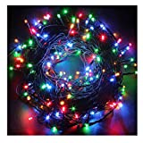 FULLBELL Christmas Lights, Indoor String Lights with 8 Flash Changing Modes, USB Power 72ft 200LED Wire lights, Waterproof Rope Lights, Fairy Twinkle Decorative Lights for Patio/Garden/Home MultiColor