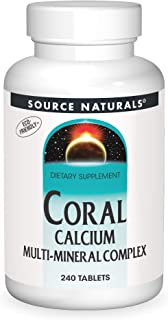 Source Naturals Calcium Coral Multi-Mineral, 240 Tablets