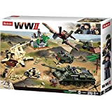 Sluban M38-B0697 WWII-Battle of Kursk 998PCS, Multi Color