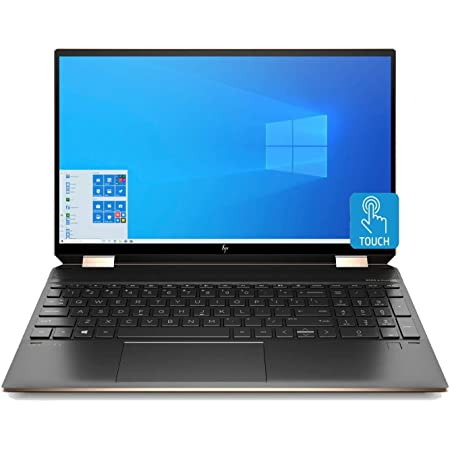 HP Spectre x360 Convertible Laptop Intel i7-10510U 16GB 512GB SSD NVIDIA GeForce 15.6-inch 4K UHD Touch WLED (Renewed)
