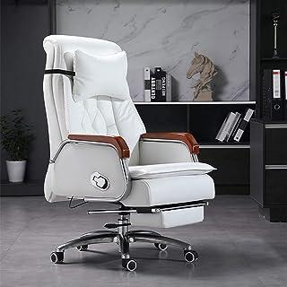 Renovatie huis Thuiscomputer Bureau Draaistoel Uitvoerende bureaustoel met intrekbare voetsteun Racestijl Liggende compute...